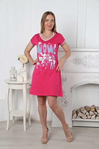 Туника Лето (розовый)
