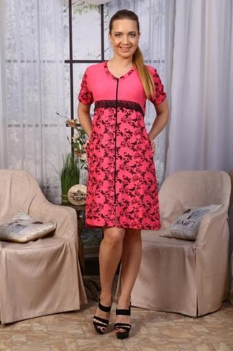 Халат Бабочки (розовый)