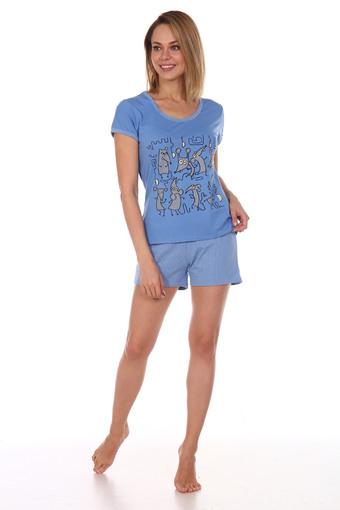 Пижама Мыши (голубой)