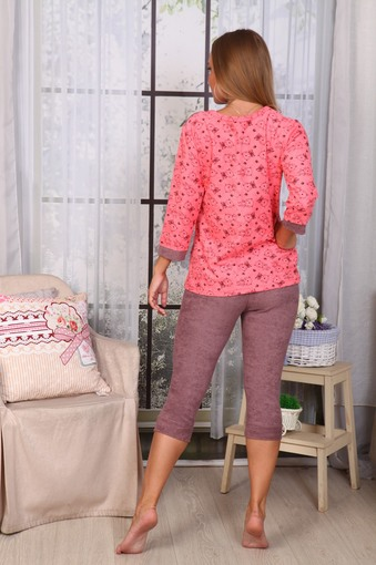 Пижама Мишки (розовый)