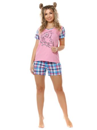 Пижама Лапушка (клетка)