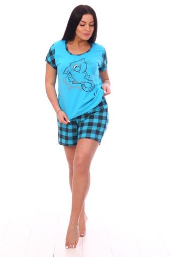 Пижама Лапушка (бирюза)