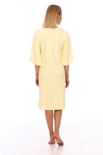Сорочка Нежность (желтый)