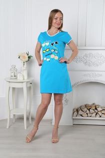 Туника Лето (голубой)