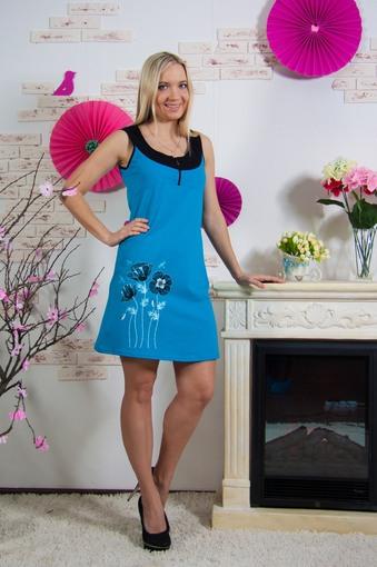 Платье Маки (голубой)
