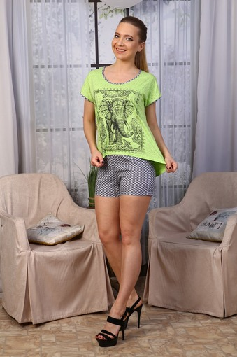Пижама Африка (зеленый)