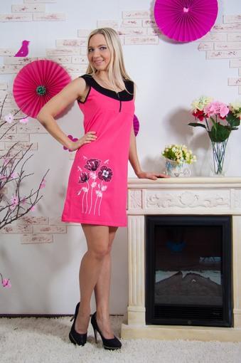 Платье Маки (розовый)