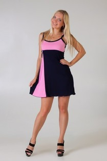 Сорочка Глория (розовый)