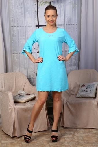 Сорочка Махра (голубой)