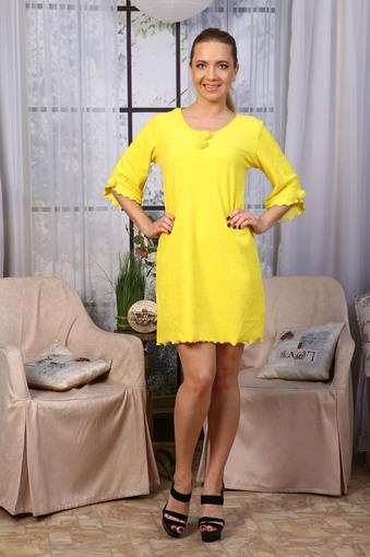 Сорочка Махра (желтый)